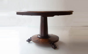 19th Century Rose Veneer Table