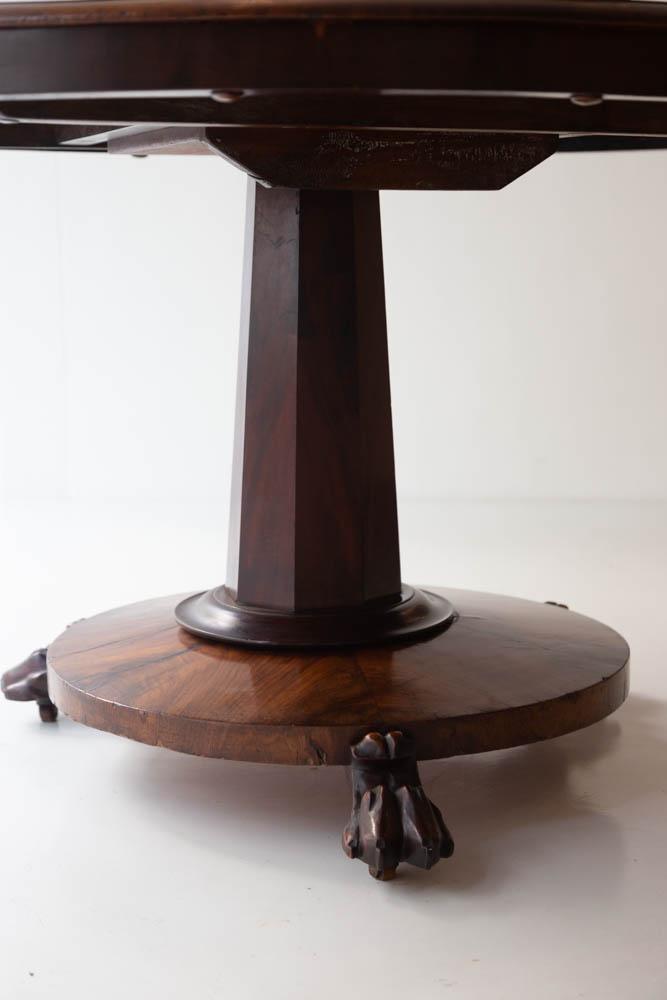 19th Century Rose Veneer Table