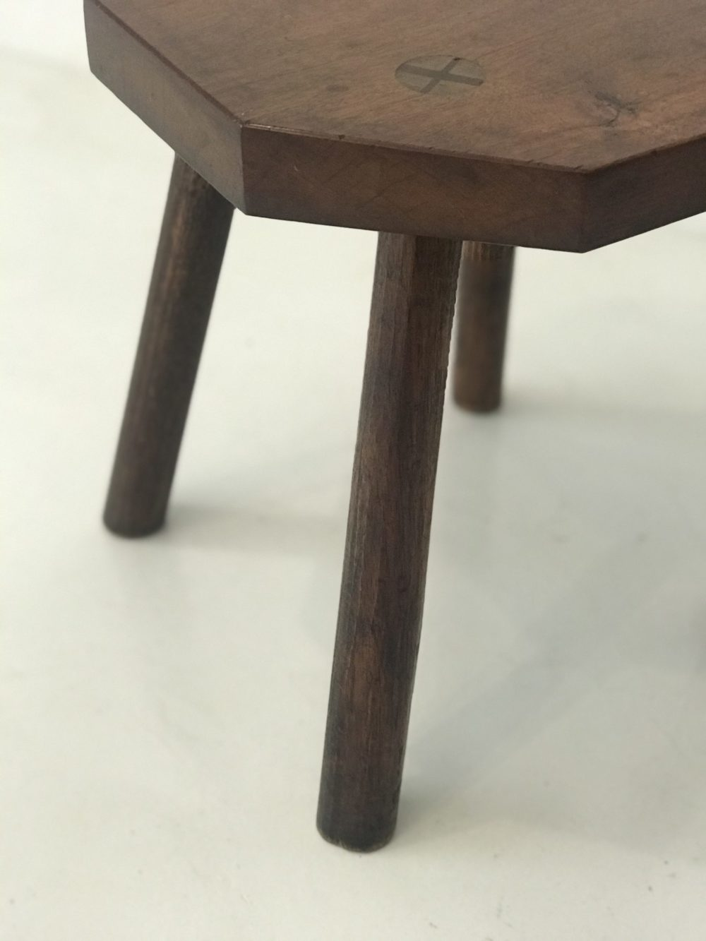 Rooiels & Kiaat Milk stool